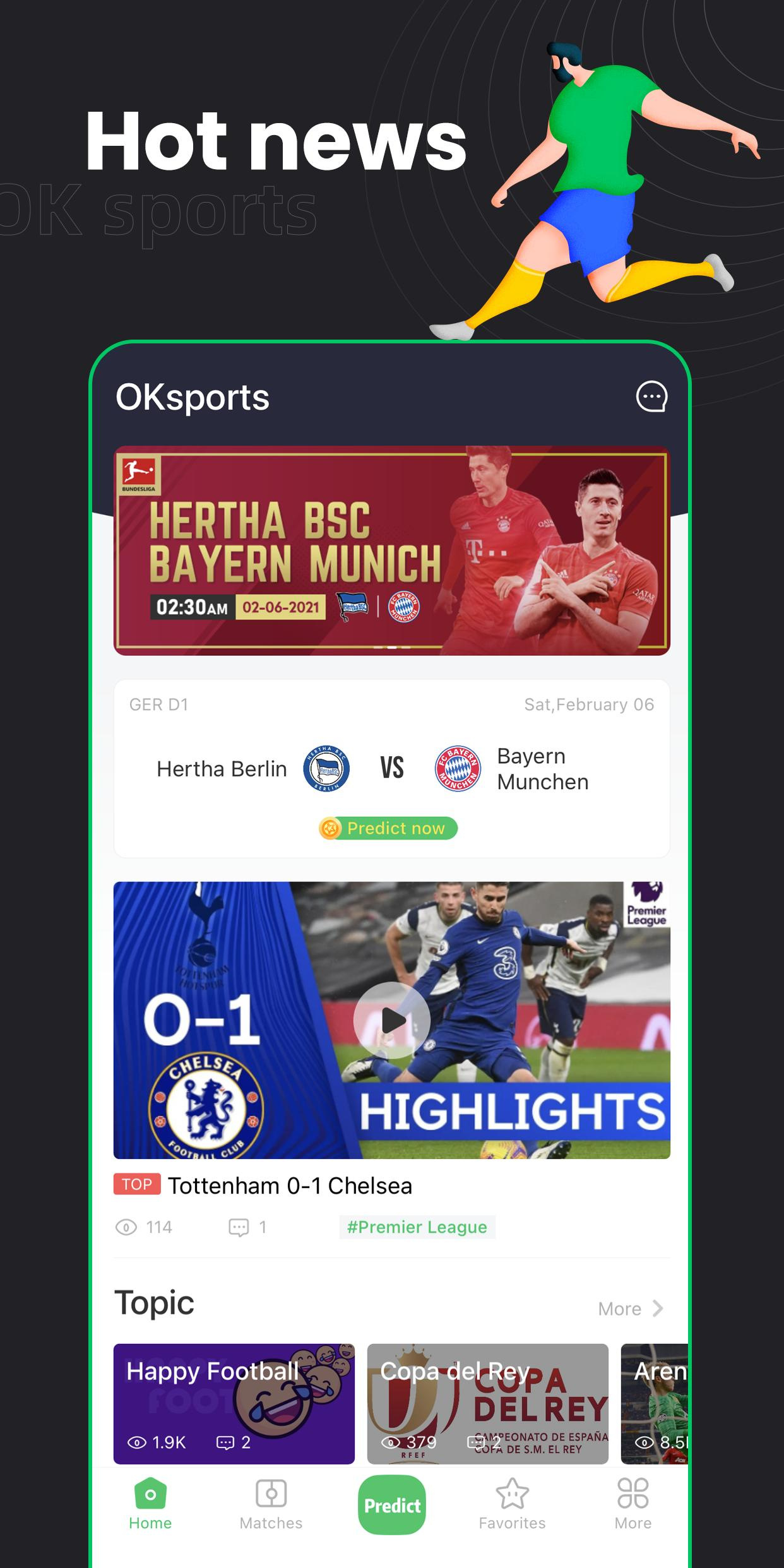OKsports for Android - APK Download