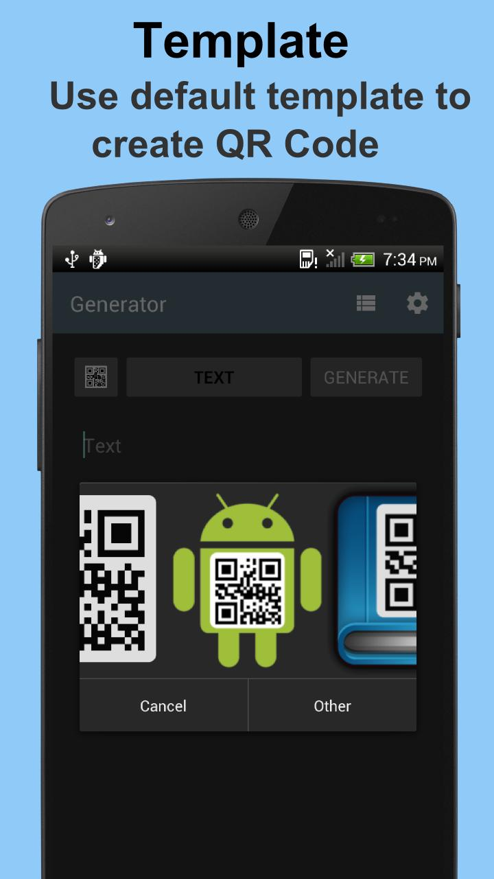 QR Code Generator for Android - APK Download