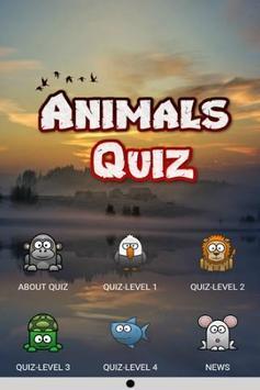 Trivia Quiz Up : Animals Logic Game poster