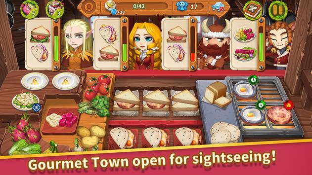8 Schermata Cooking Town