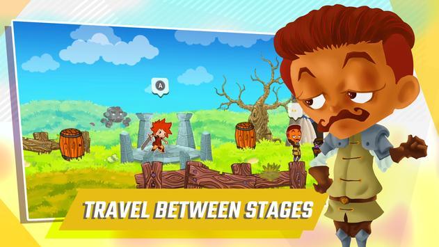 Breaking Gates – 2D Action Platformer ảnh chụp màn hình 3
