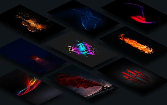 Black AMOLED Wallpapers 4K - Live Backgrounds poster