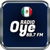 Oye 89.7 Radio Fm Online Radio Mexicana NO OFICIAL icon