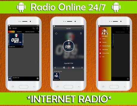 Oye 89.7 Radio Fm Online Radio Mexicana NO OFICIAL poster
