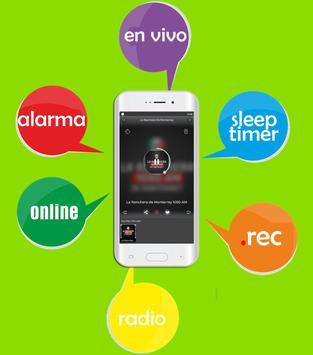 Radio La Ranchera De Monterrey 1050 Am NO OFICIAL screenshot 1