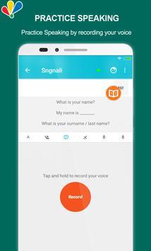 Chat to learn English screenshot 4