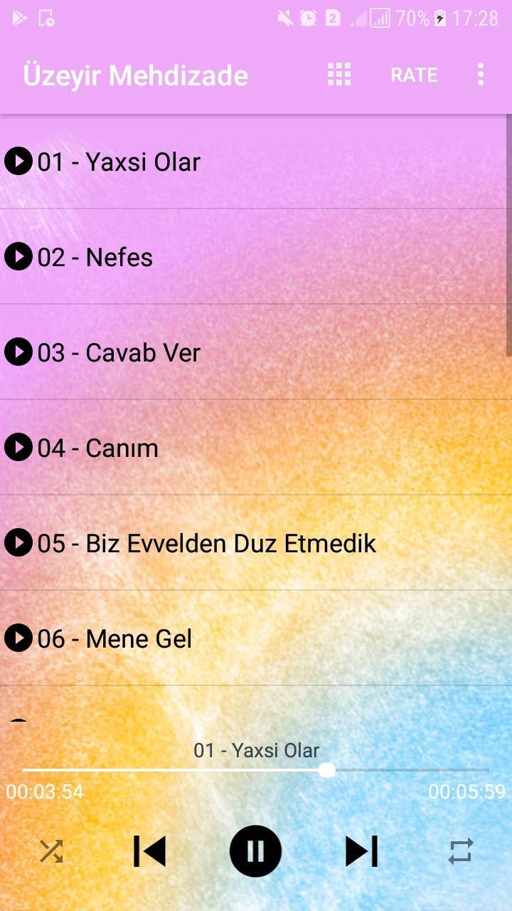 Uzeyir Mehdizade 2020 Yaxsi Olar For Android Apk Download