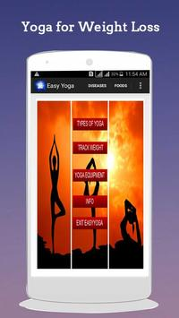 Easy Yoga for Weight Loss poster