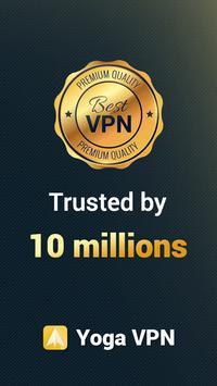Yoga VPN الملصق