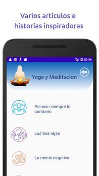 Yoga y Mindfulness, Meditación guiada en español capture d'écran 3