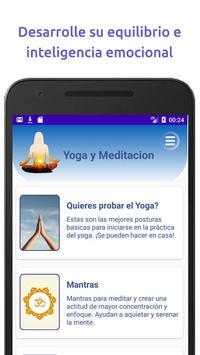 Yoga y Mindfulness, Meditación guiada en español Affiche