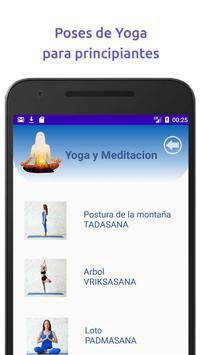 Yoga y Mindfulness, Meditación guiada en español capture d'écran 2
