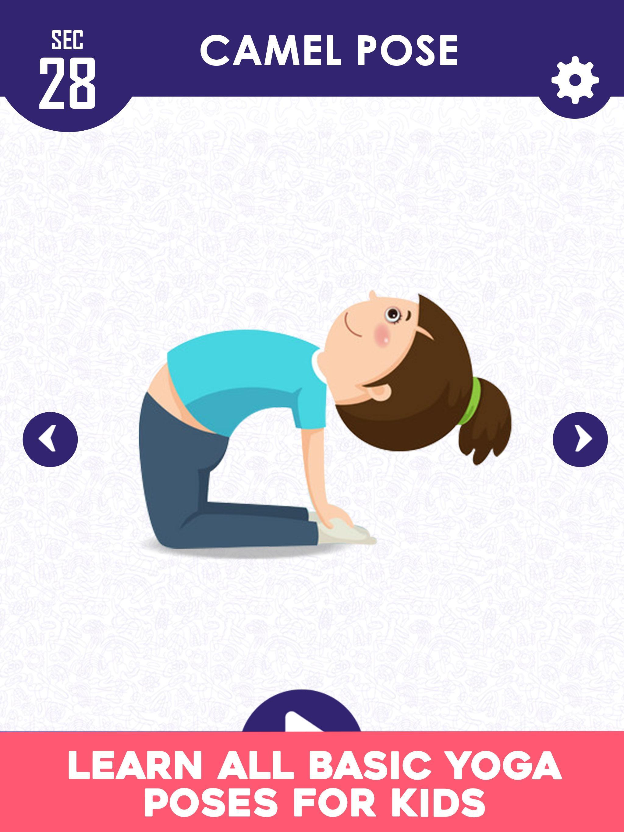 Yoga For Kids Easy Yoga Poses For Kids Fitness For Android Apk Download