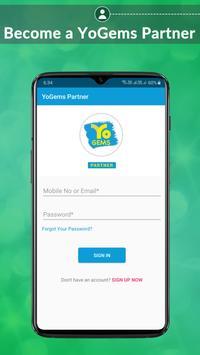 YoGems Partner poster