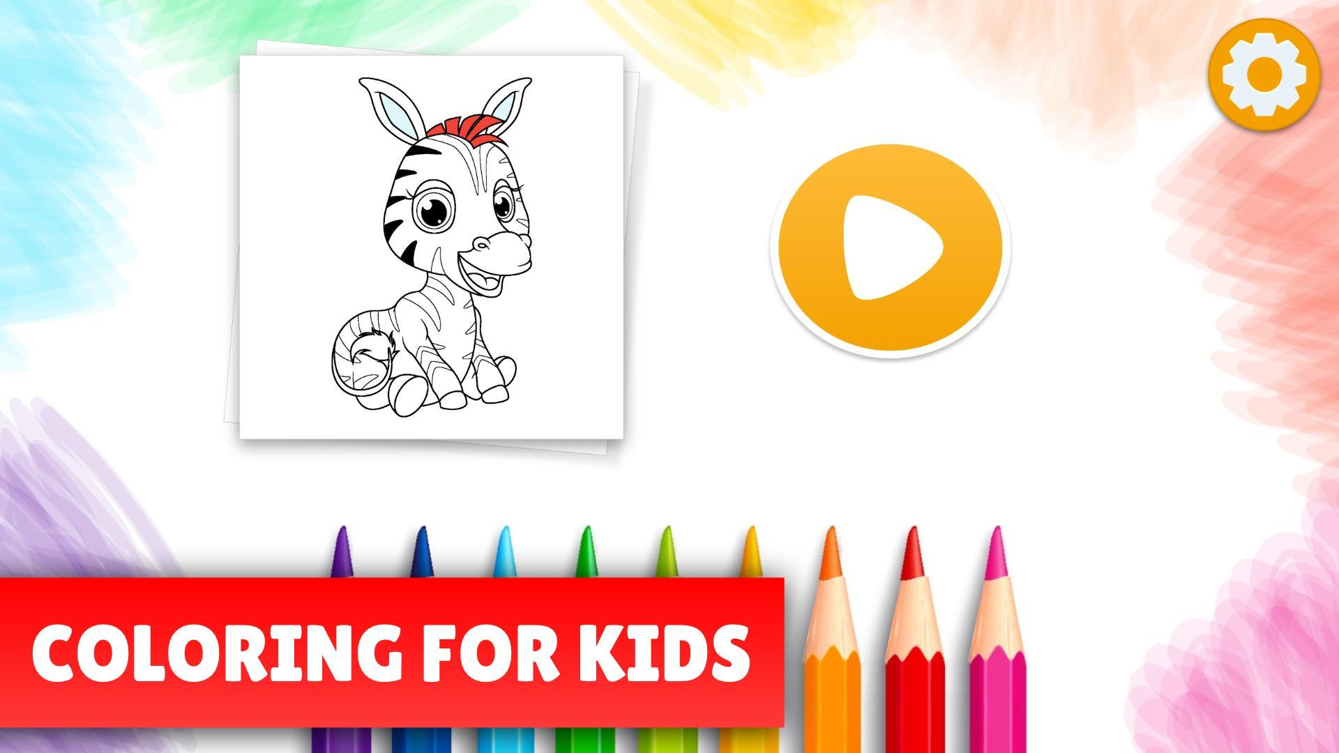 Kids coloring pages - Free drawing game 🐴🦄🎨 for Android - APK ...