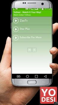 New Yodesi TV Shows : Free Serials Tips screenshot 1