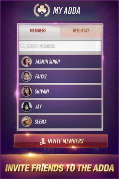 Teen Patti Adda: Free Online 3 Patti Indian Poker screenshot 1