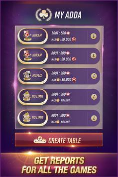 Teen Patti Adda: Free Online 3 Patti Indian Poker screenshot 3