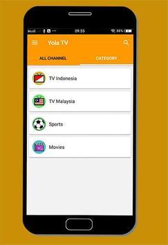 TV Indonesia - Yola TV Online Streaming screenshot 1
