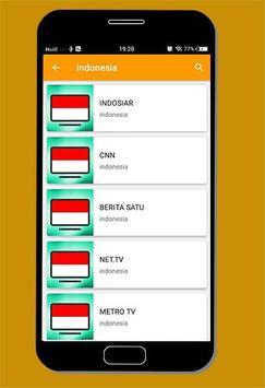 TV Indonesia - Yola TV Online Streaming screenshot 2
