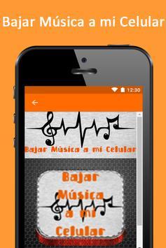 Bajar Musica a Mi Celular Guia Facil y Gratis screenshot 3