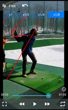 Golf Swing Viewer -Analyze your golf swing easily! poster
