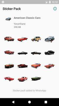Sticker American Classic Cars screenshot 1