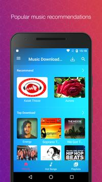 Free Music Download - Unlimited Mp3 Music Offline poster