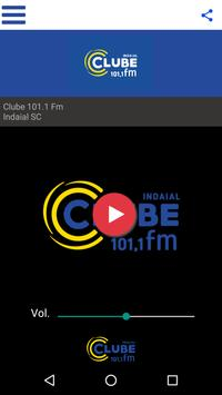 Clube 101,1 FM poster