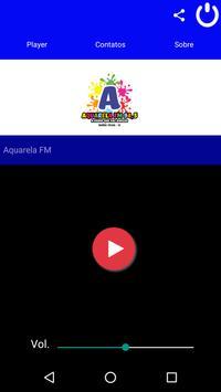 Aquarela FM poster