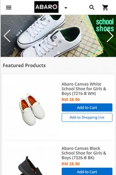 Abaro Shoes poster