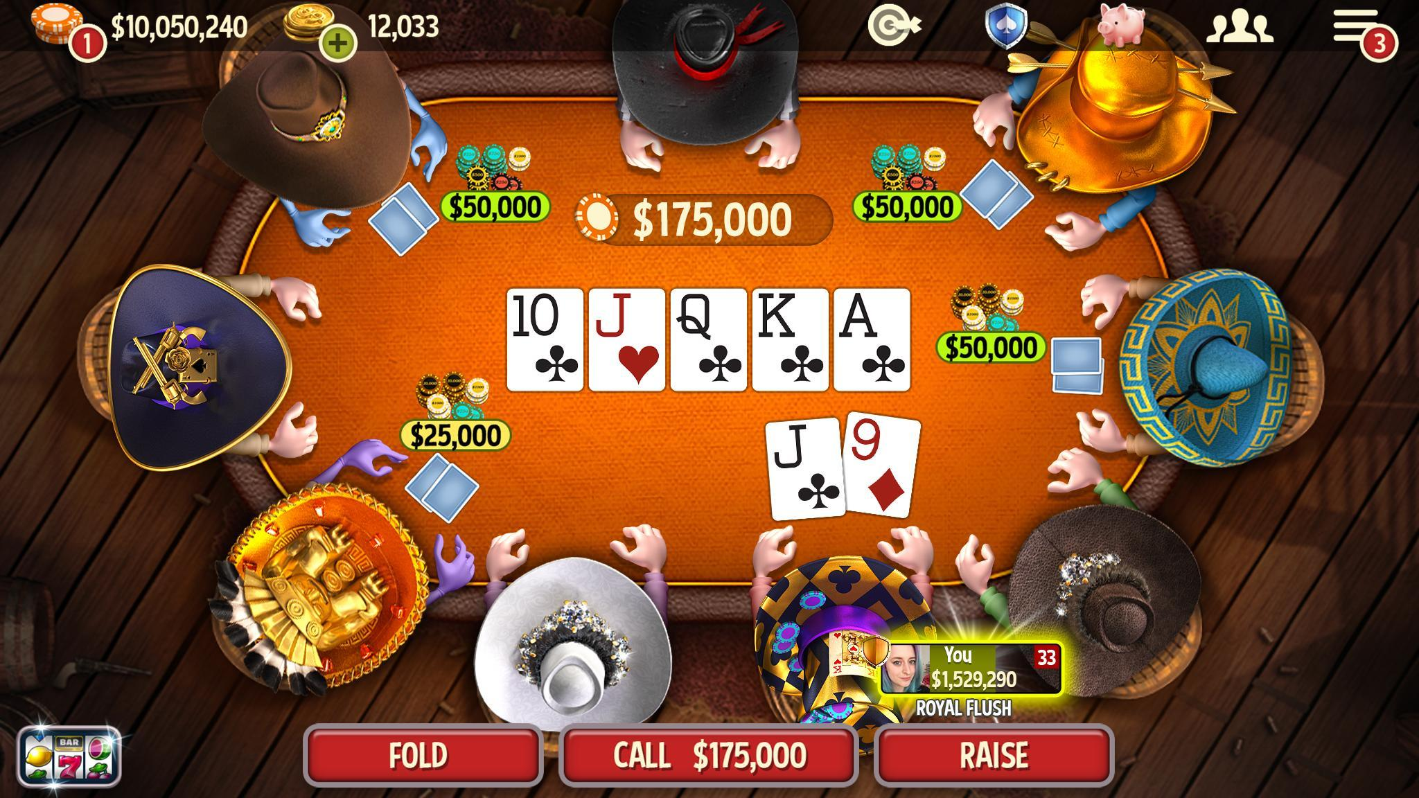 Governor Of Poker 3 Free Texas Holdem Card Games For Android Apk Download