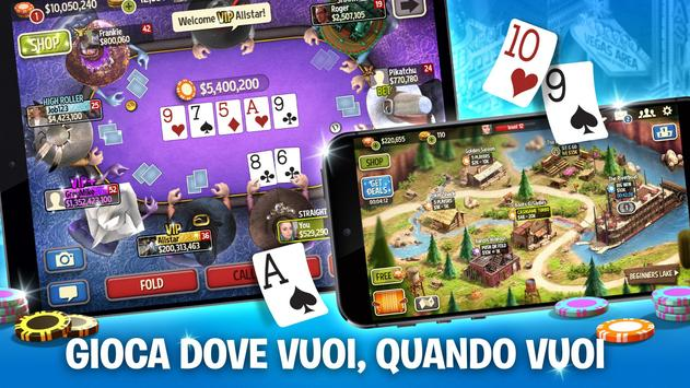3 Schermata Governor of Poker 3 - Texas Holdem: Carte e Casinò
