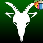 simple campricorn icon