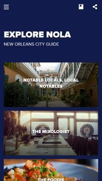 New Orleans Food & Culture Guide poster