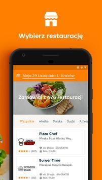 Pyszne.pl: Jedzenie z dowozem スクリーンショット 1