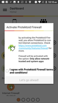 Protektoid, secure your device screenshot 1