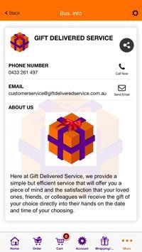 Gift Delivered Service screenshot 4