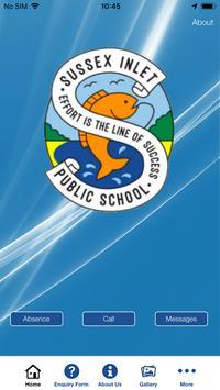 Sussex Inlet Public School App poster