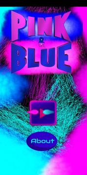 Pink&Blue poster