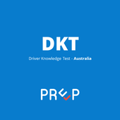 DKT Australia - Driver Knowledge Test Prep App icon
