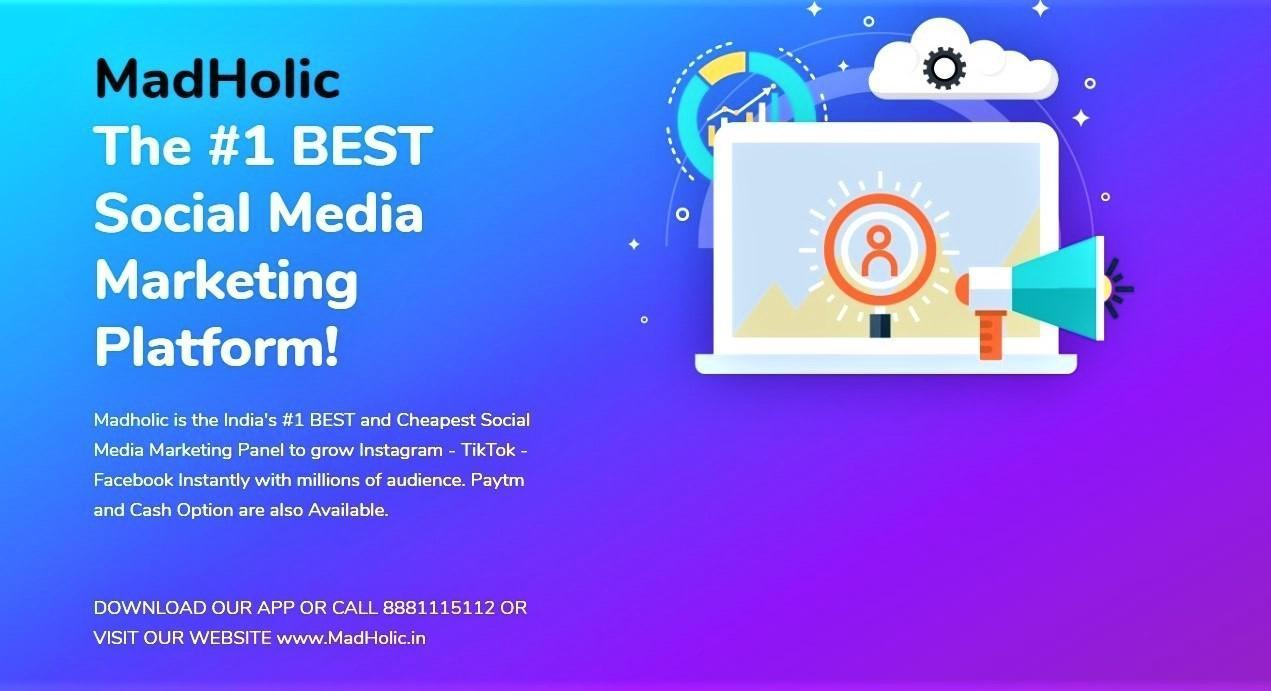Madholic -🔥Top SMM Panel🤩{Social Media Experts} for Android - APK