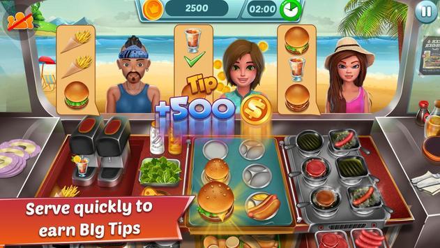 Food Truck Restaurant : Kitchen Chef Cooking Game poster