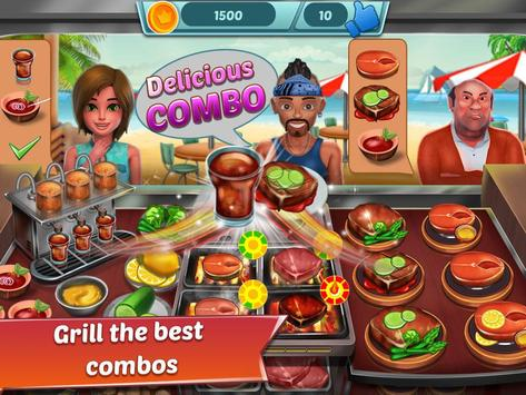Food Truck Restaurant : Kitchen Chef Cooking Game screenshot 11
