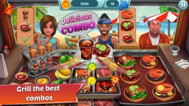 Food Truck Restaurant : Kitchen Chef Cooking Game screenshot 1
