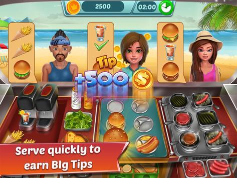 Food Truck Restaurant : Kitchen Chef Cooking Game screenshot 5