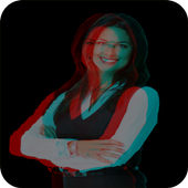3D live photo effect icon