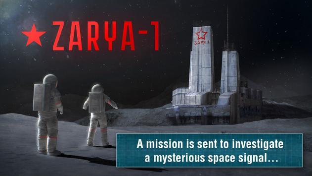 Survival-quest ZARYA-1 STATION الملصق