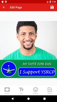 YSRCP Photo Frames - DP Maker screenshot 3