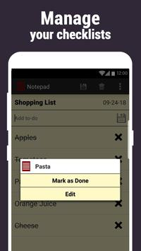 Notepad screenshot 5